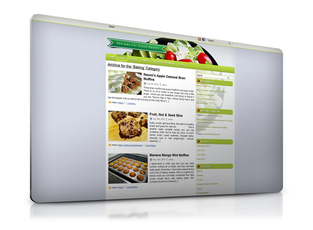 A foodie blog