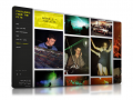 A fully responsive book promotion website with image gallery